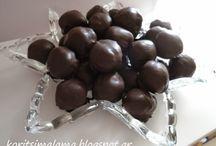 Σοκολατάκια με μανταρινια