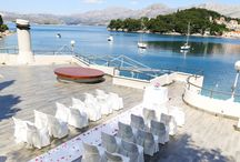 New Venue - Luxury Harbour Side wedding in Dubrovnik, Croatia / A luxury harbour side wedding is located in the beautiful town of Cavtat, a town just off Dubrovnik. A wedding here offers you amazing views of Cavtat and Dubrovnik as well.