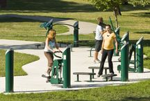 HealthBeat Outdoor Fitness System