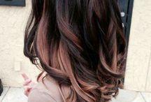 dark / brown hair color