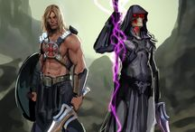 Masters of the universe fanart / in my childhood was one of my favorite animation series...