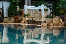 Achtis hotel garden