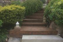 Project backyard stairs, Kristiansund, Norway