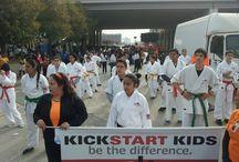 2013 Kickstart Kids MLK March / Kickstart Kids take part in the 2013 Houston Martin Luther King March.