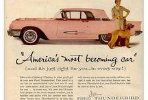 Autos americaines pub (50-70s)