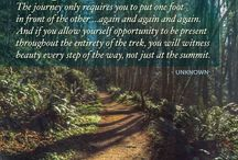hiking:  quote