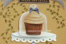 Cupcake y dulces para decoupage