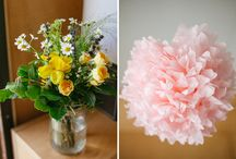 Venue styling / All the pretty things my clients have used to style their venue.