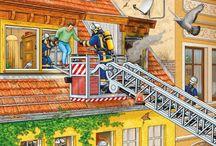 Planşe + activitatea pompierilor