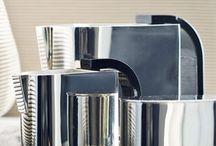 zilver, chroom & tin / by Hilde Van den Abbeele