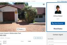 Property sales in South Africa