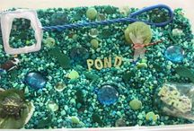 Exploring Pond Animals in Kindergarten / This board includes ideas, activities, and resources for teaching about pond animals in kindergarten.