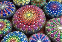 pintura de piedras