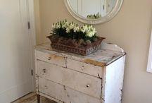 Restauració-Reciclatje mobles / chalck paint, pintura guix, pintura tiza. la pintura multiús.