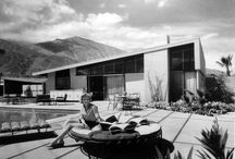 Midcentury modern house exteriors