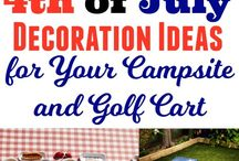 4th of July Camping! / All the recipes and decorations you'll need this July