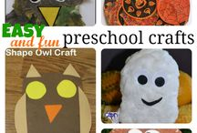 KIDS FALL CRAFTS / by Dawn Marelli