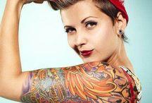 Rockabilly Tattoos / Fave Rockabilly Tattoos