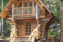 Small Cabins.. / Cozy creative designs with flair...