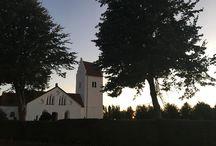 Instagram Vilken fantastisk vy från Skurups kyrka denna onsdagskväll! #skurup #skurupskyrka