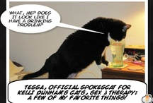 SPOKESCATS FOR COMEDY! / Kelli Dunham's Cats, Sex and Therapy: A Few Of My Favorite Things comedy shows as celebrated by SPOKESCATS