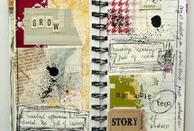 art journals and scrapbooks