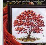 X-stitch tree