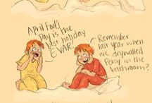 HP Weasley Family