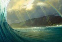 spettacolo del mare e natura