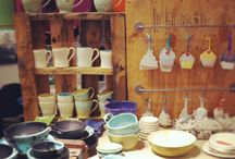 Booth & Display / Ceramic, booth, display, shelving  / by Noelle Horsfield Ceramic Artist