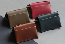 Lovely Fold leather wallets