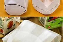 nápady z odpadního materiálu