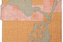 Art: Maps / Art made from maps or using map imagery.