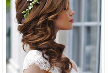 Bride hairstyle for long hair