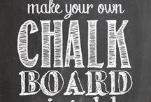 Chalkboard Type