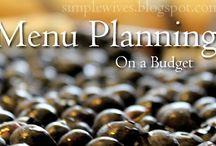 Menu & Recipe Organization