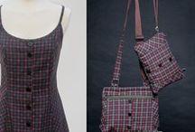 shop bolsos VIVI2 / Bolsos upcycling realizados con prendas en desuso. Realizados sin patrones uno a uno. Únicos. Solo hay una unidad de cada modelo