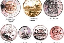 Canadian coins and other countries / by Martha Edghill