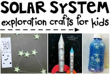 Space / Space themed teaching ideas - science, art, crafts etc.