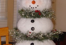 Snowman ideas / by Donna Gallup