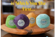 MojiLife BathBombs MojiLux Collection with Moji-Living / MojiLife MojiLux Collection consists of Recharge, Delight, Relax and Exhilarate...