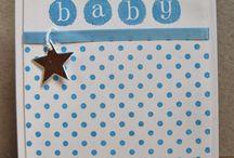 """Baby Cards"" I made"