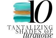 10 TANTALIZING SHADES OF TURQUOISE