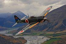 Second world war planes