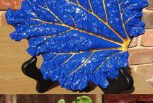 hojas y artesania