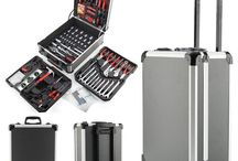 Tool Box Set Case Mechanics Trolley Organizer Carbon Kit Garage Castors Toolbox