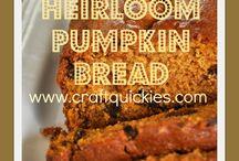 Pumpkin Recipes / Recipes for the Fall using Pumpkin #pumpkinrecipes #fall / by Amanda - Mommity