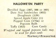 Autumn Wartime Recipes & Food