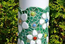 Pots en mosaïque