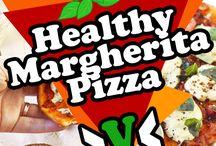 P I Z Z A / You must love PIZZA. Especially vegan pizza!